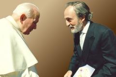 Rencontre avec le pape Jean-Paul II
