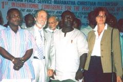 Au Ghana à la Première Conférence Internationale pour la Paix et la Prospérité des Nations