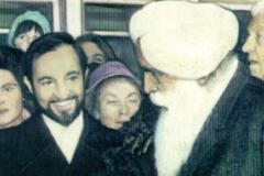 Avec Sant Kirpal Singh, Président de la Fraternité Mondiale des Religions