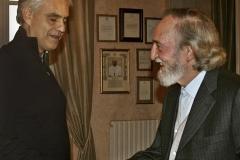 Prix Art, Science et Paix à Andrea Bocelli