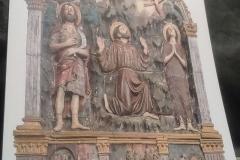 Art à Sargiano: Saint François reçoit des stigmates