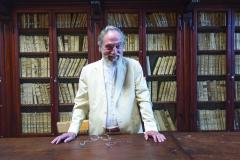 Le président Pier Franco Marcenaro dans l'ancienne bibliothèque
